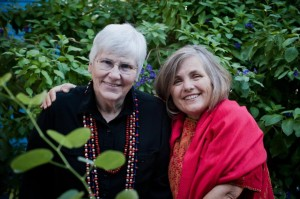"Sr. Judy Bisignano (""Sister Jaguar"") and Sandra Morse in Tucson. (Britta Van Vranken"