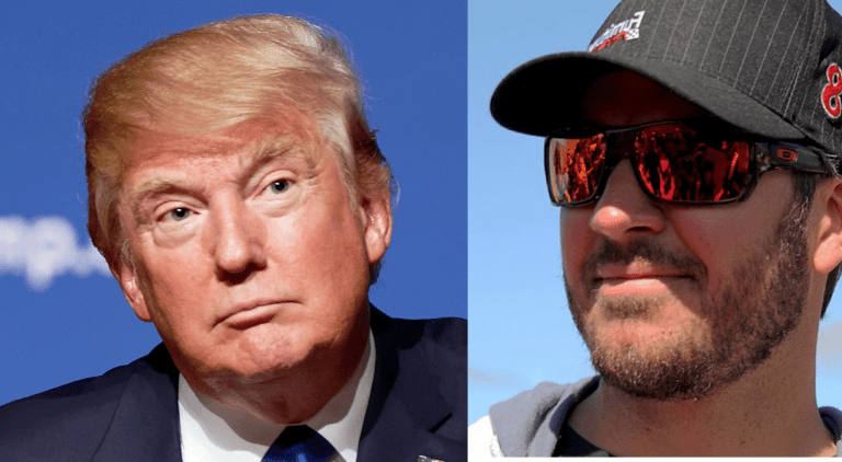 NASCAR's Martin Truex Jr. Visits White House, Reveals What Sort of Host Trump Actually Is