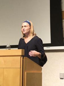 Beth Allison Barr speaking at CFH 2018