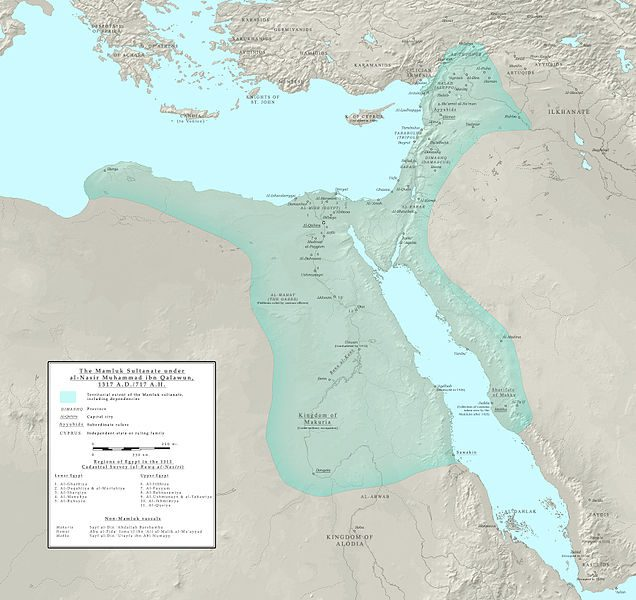 Mamluk Egypt in early fourteenth century