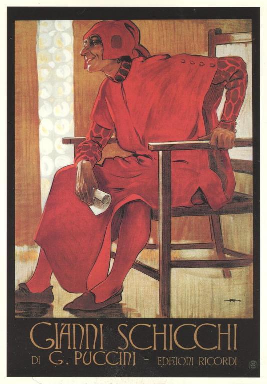 Gianni Schicchi promo poster