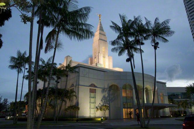 A temple in Recife, Brazil