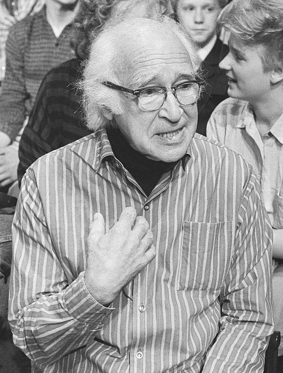Dr. George Wald, ten years before his death