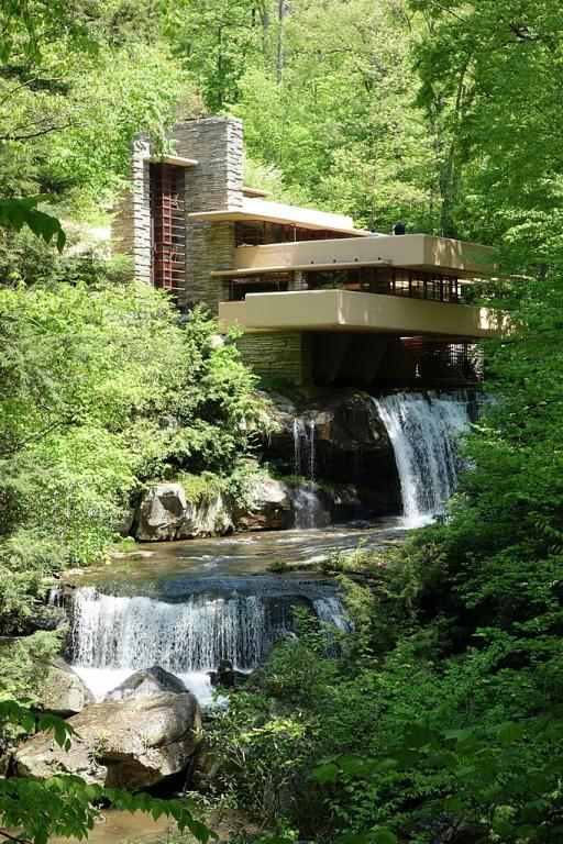The Fallingwater home