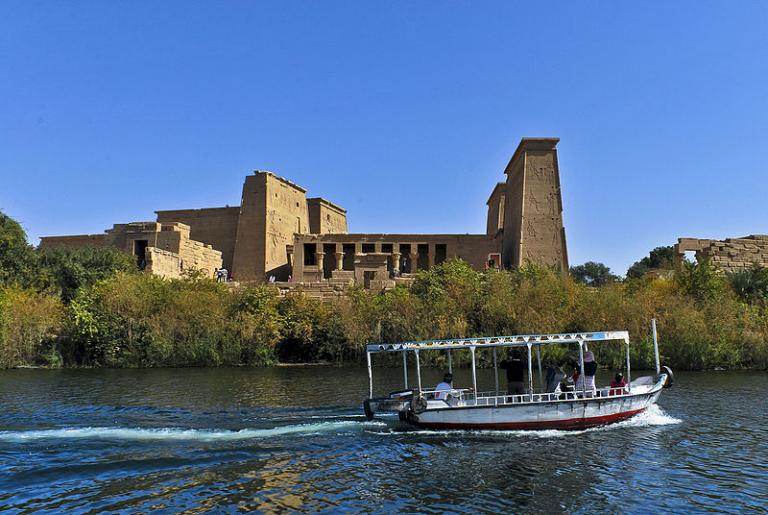 Philae, the temple of Isis