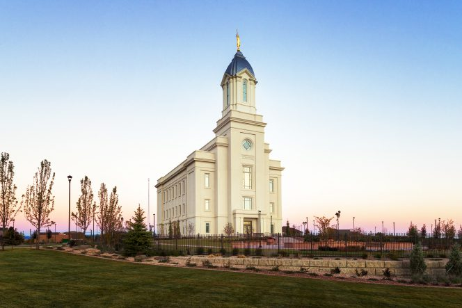 Iron County's only LDS temple