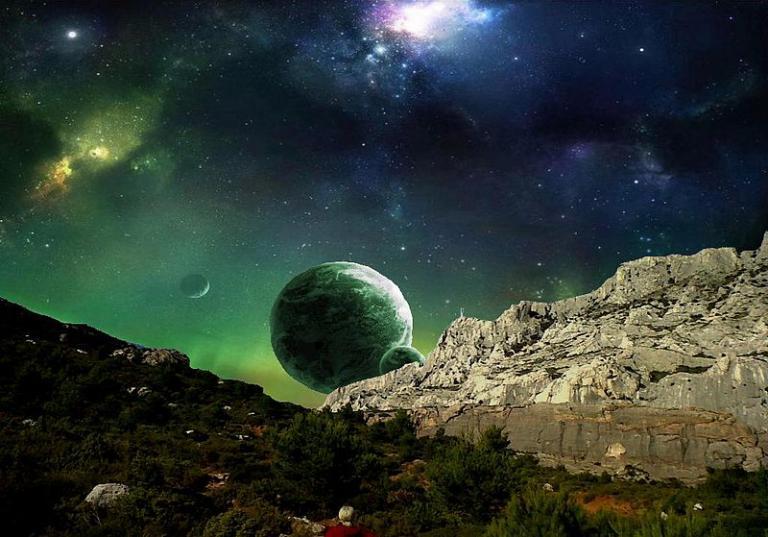 Looks like an exoplanet close to Price, Utah