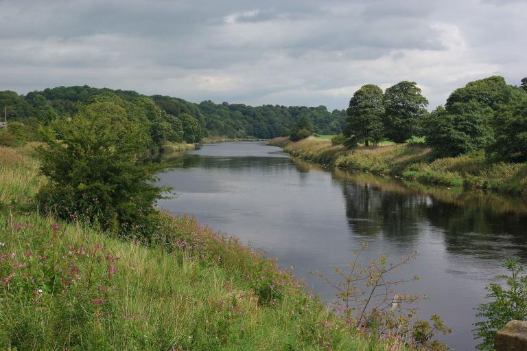 The Ribble, not far from Preston