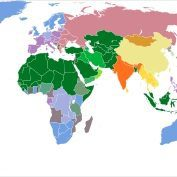 Reasons We Dont Live In A World With A God Part - World religion map