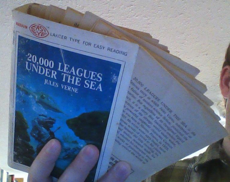 Second Thoughts On 20000 Leagues Under The Sea Or When Books Die