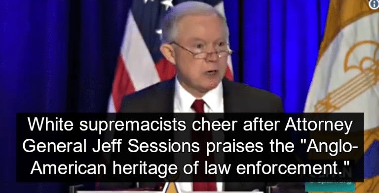 Jeff Sessions criticized for 'Anglo-American' reference