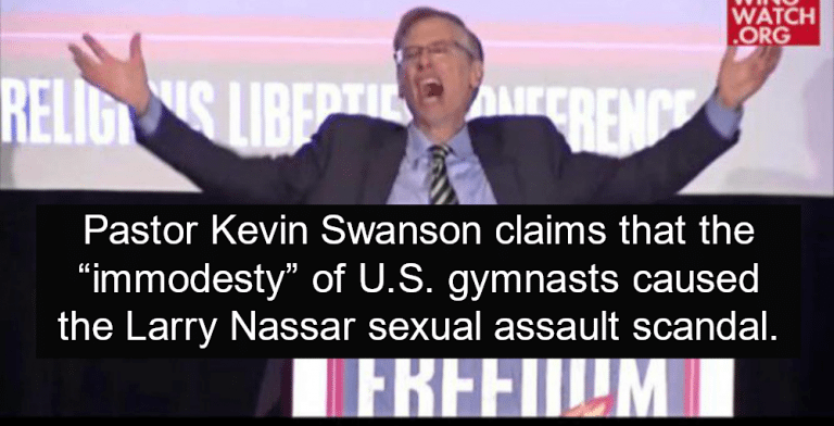 Pastor: 'Immodesty' Of US. Gymnasts Caused Sexual Assault Scandal