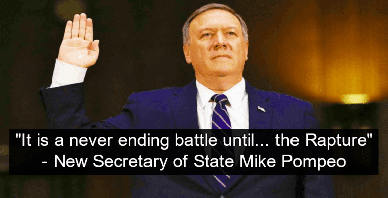Senate confirms Mike Pompeo as Secy. of State