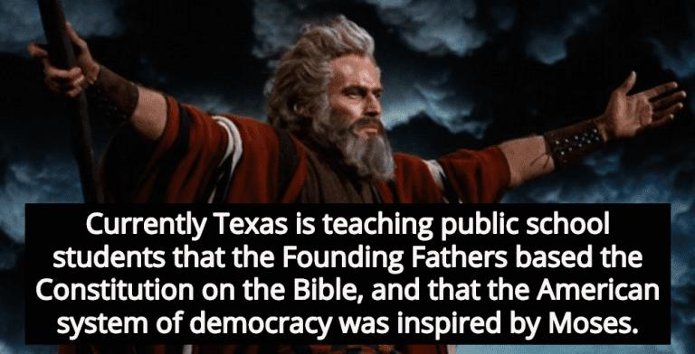 Texas Education Board Debates Moses As Founding Father (Image via YouTube)