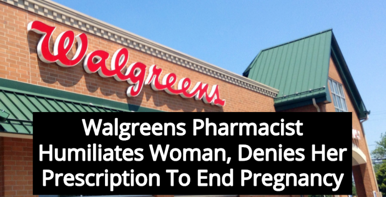 Walgreens Pharmacist Denies Woman Prescription To End Pregnancy (Image via Flickr)