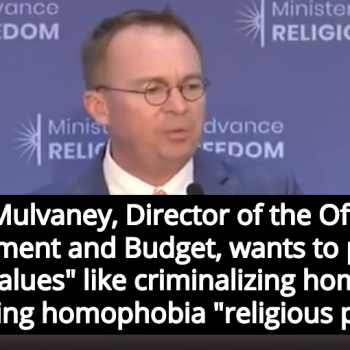 Criminalize homosexuality and christianity