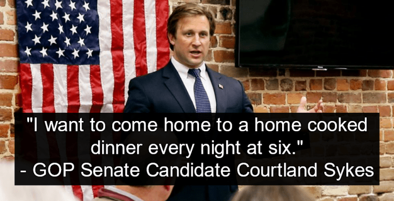 GOP Senate Candidate Who Said 'Women Are Here To Cook My Dinner' Loses In Missouri (Image via Facebook)