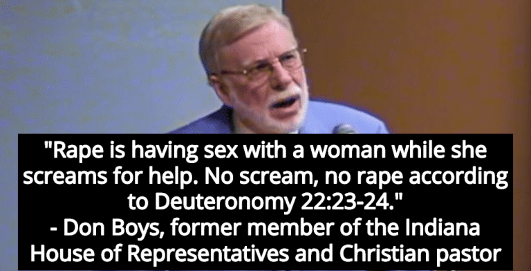 Christian Leader Uses Bible To Defend Kavanaugh: 'No Scream, No Rape' (Image via Twitter)
