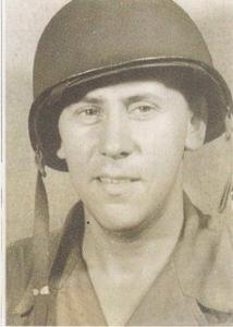 My father, Melvin, WWII photograph