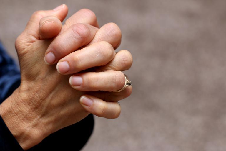 hands in prayer