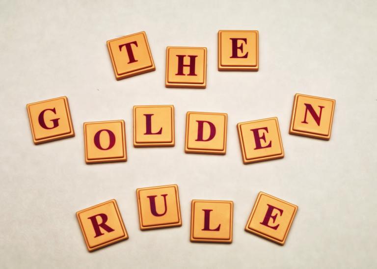 The Golden Rule. Image by Shutterstock: Mr.Nikon