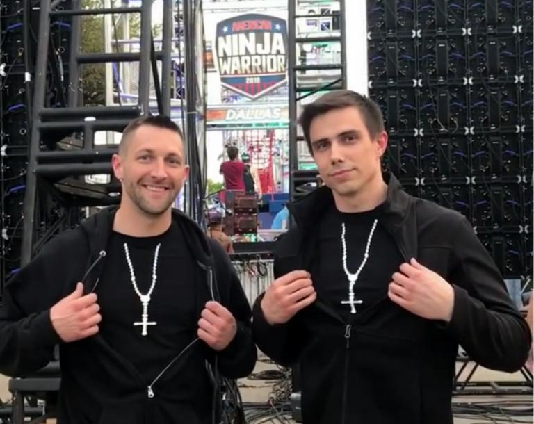 American Ninja Warrior First The Papal Ninja Now A