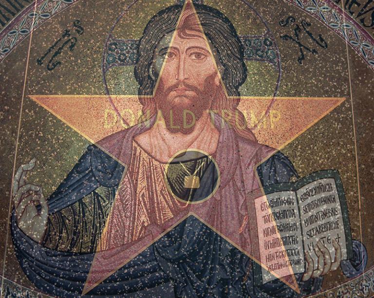 Trump and Jesus: Both seen as saviors