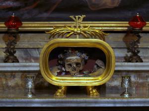 The Skull of St. Valentine