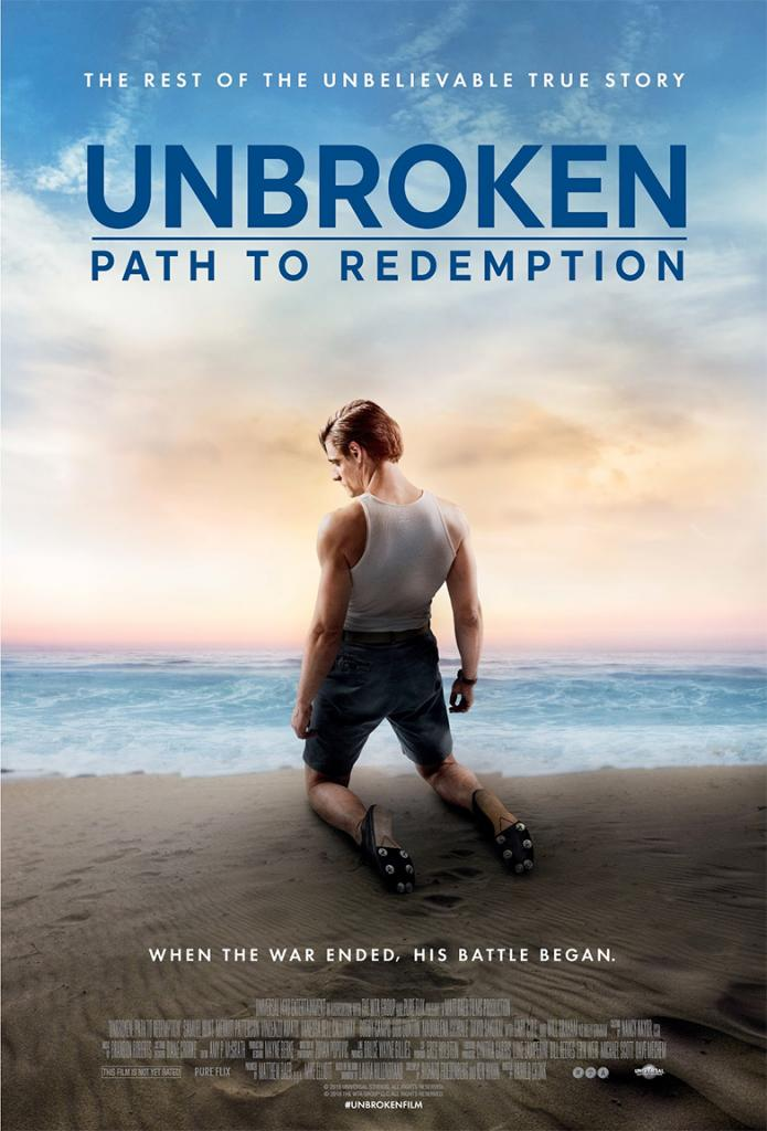New 'Unbroken' Film Explores Redemption of Louie Zamperini ...