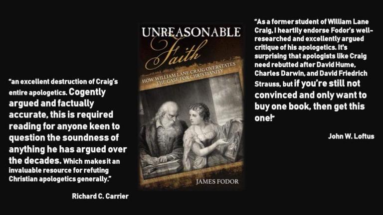 Two experts comment on Unreasonable Faith