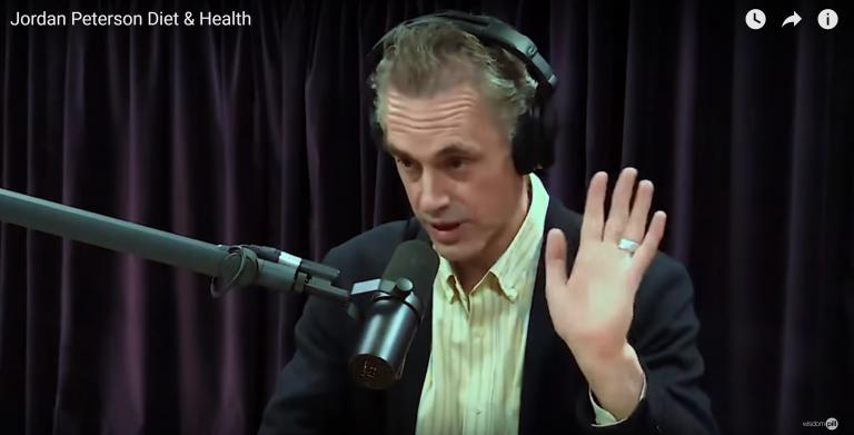 "Jordan Peterson Thinks Daughter's Meat Diet Cured His ""Autoimmune Disorderâ€"