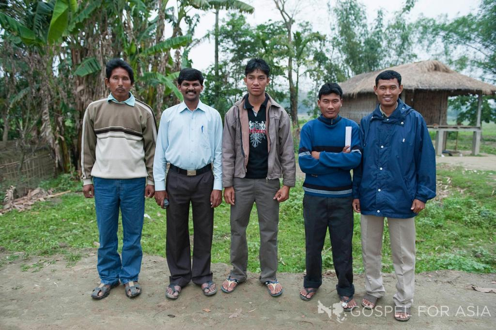 Courage is required by our national ministry workers to share God's love in villages that have never heard Good News.