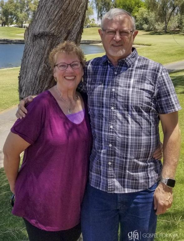 Ralph and Sandy - Mission Support Team by God's Calling