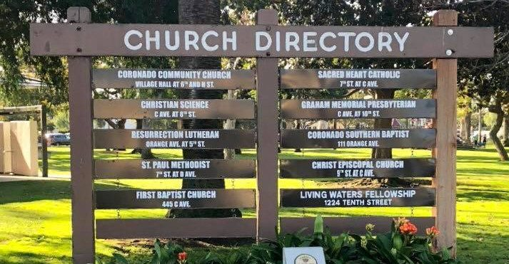 Image result for Coronado, California CHURCH DIRECTORY IMAGES