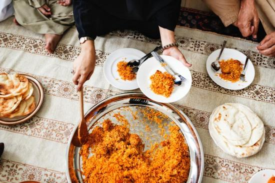 food feelings local mosque overcoming fear Muslims