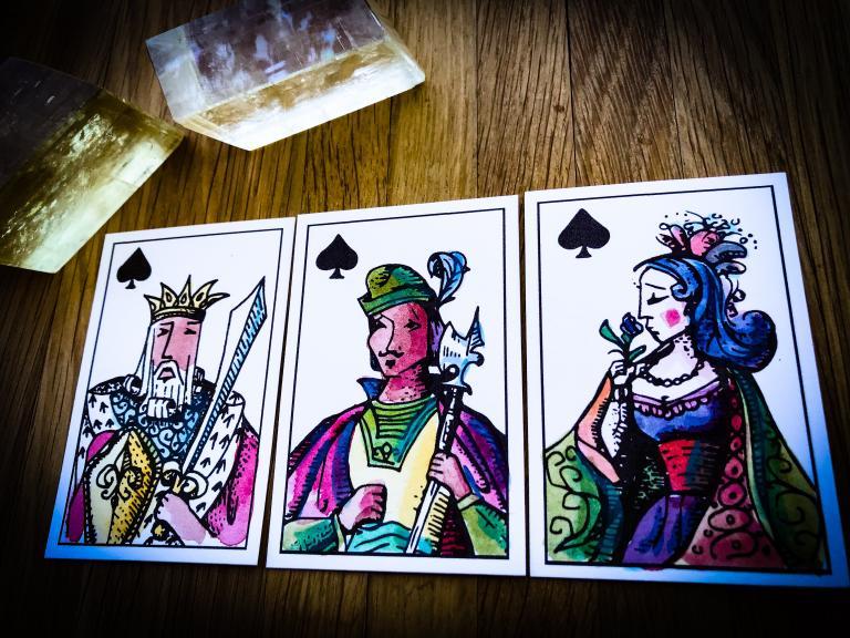 camelia Elias, playing cards, Ryan Edward, lenormand