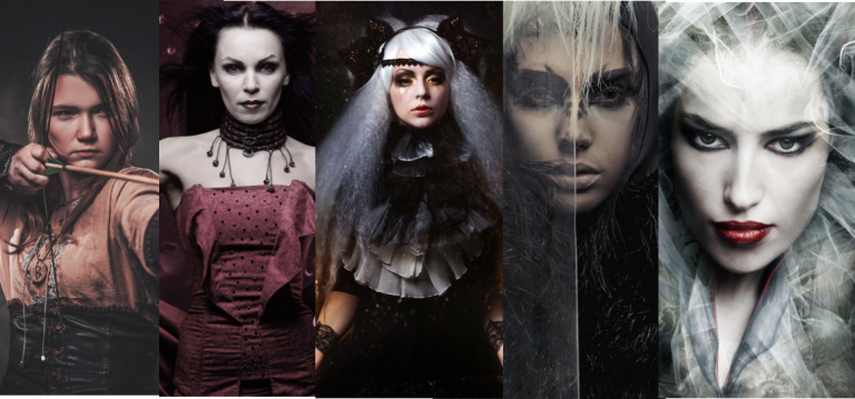 Hekate and Her Four Sovereign Goddesses: Artemis, Medea, Persephone and Kirke (includes a ritual)