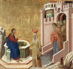 Photine at the well with Jesus