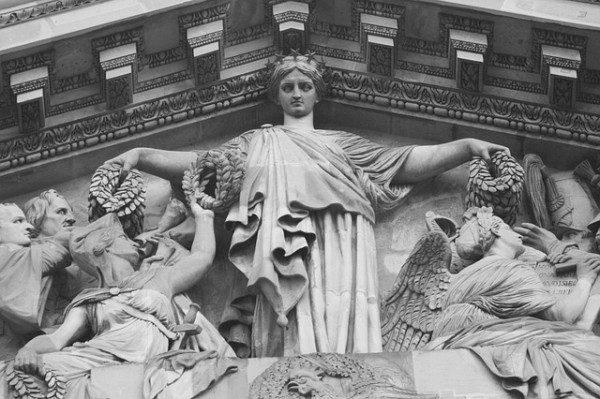 Temple in Paris, France (public domain photo)