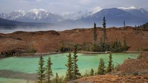 Lake along Alsek River, Yukon, Canada. Photo by Peter Pham (cc) 2006.