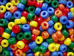 multicolor beads