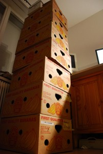 """Photo by Bez, """"Piling Boxes Again"""" (cc) 2008."""