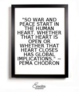 chodron open heart