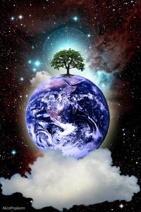 Mother Earth. Composite by (cc) 2013.