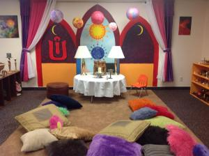 RE Room Set for Ritual, Grand Junction, CO Photo by Shari Daily-Miller (2014)