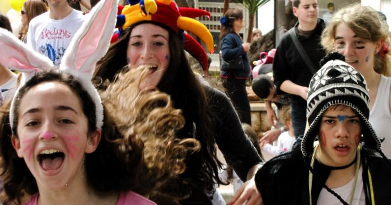 Purim: Attack of the Happy Kids
