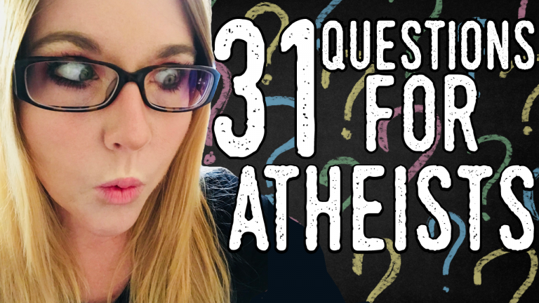 When I first answered these questions four years ago, I had just begun  blogging as Godless Mom and really only just begun exploring the different  arguments ...
