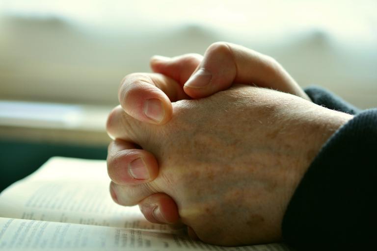 Suffering, prayer, hope