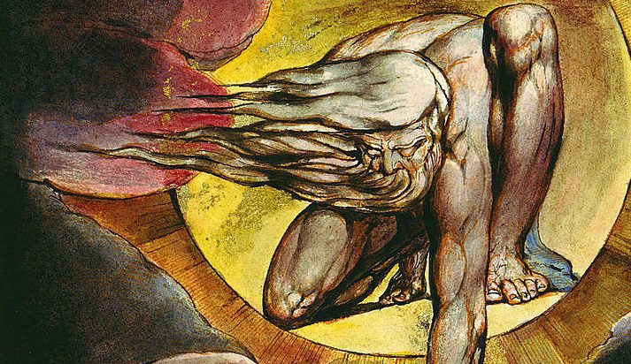 William Blake - Europe: a prophecy (detail)