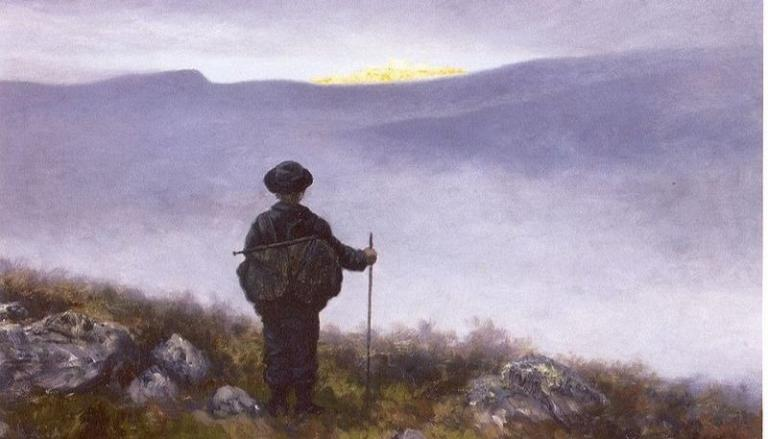 """Soria Moria"" by Theodor Kittelsen. From WikiMedia."